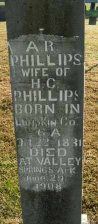PHILLIPS, ARMENIA R. - Boone County, Arkansas | ARMENIA R. PHILLIPS - Arkansas Gravestone Photos