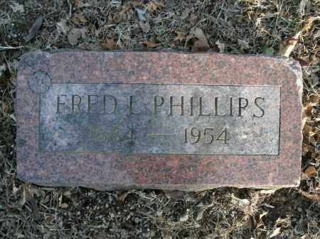 PHILLIPS, FRED L. - Boone County, Arkansas | FRED L. PHILLIPS - Arkansas Gravestone Photos