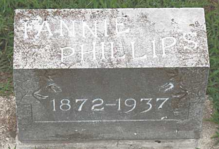 PHILLIPS, FANNIE - Boone County, Arkansas | FANNIE PHILLIPS - Arkansas Gravestone Photos