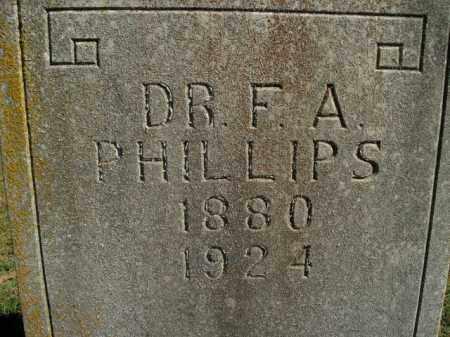 PHILLIPS, F.A. - Boone County, Arkansas | F.A. PHILLIPS - Arkansas Gravestone Photos
