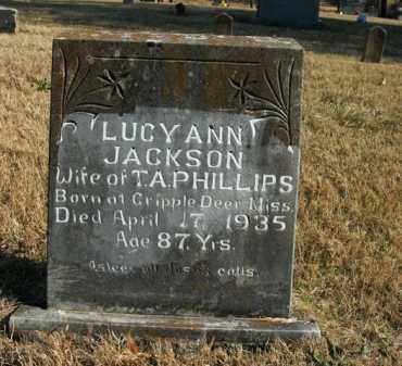 PHILLIPS, LUCY ANN - Boone County, Arkansas | LUCY ANN PHILLIPS - Arkansas Gravestone Photos