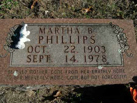BARNETT PHILLIPS, MARTHA B. - Boone County, Arkansas | MARTHA B. BARNETT PHILLIPS - Arkansas Gravestone Photos