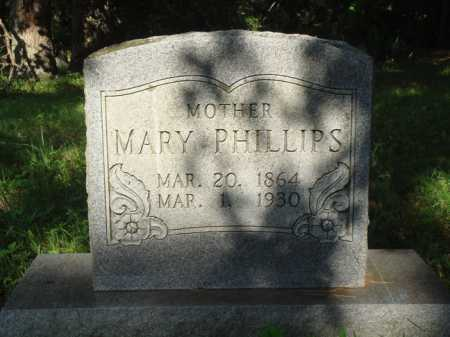 PHILLIPS, MARY - Boone County, Arkansas | MARY PHILLIPS - Arkansas Gravestone Photos