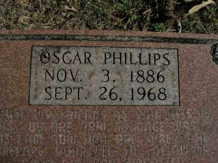 PHILLIPS, OSCAR - Boone County, Arkansas | OSCAR PHILLIPS - Arkansas Gravestone Photos