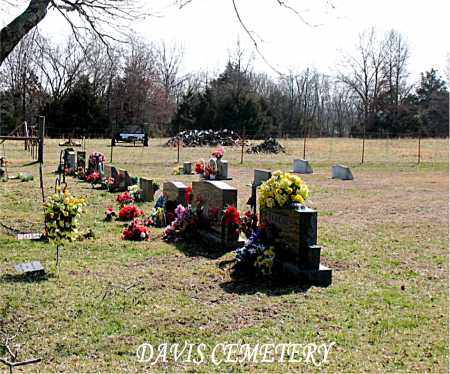*DAVIS CEMETERY OVERVIEW,  - Boone County, Arkansas |  *DAVIS CEMETERY OVERVIEW - Arkansas Gravestone Photos