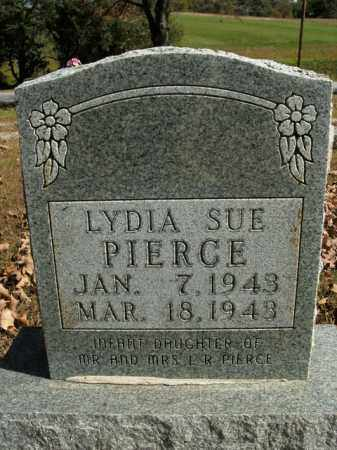 PIERCE, LYDIA SUE - Boone County, Arkansas | LYDIA SUE PIERCE - Arkansas Gravestone Photos