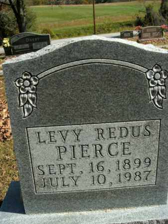 PIERCE, LEVY REDUS - Boone County, Arkansas | LEVY REDUS PIERCE - Arkansas Gravestone Photos