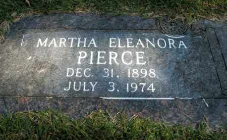 PIERCE, MARTHA ELEANORA - Boone County, Arkansas | MARTHA ELEANORA PIERCE - Arkansas Gravestone Photos