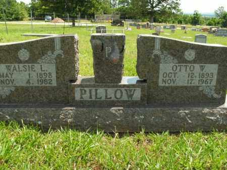 PILLOW, OTTO W. - Boone County, Arkansas | OTTO W. PILLOW - Arkansas Gravestone Photos