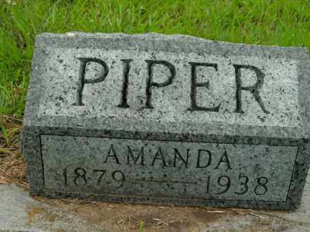 PIPER, AMANDA - Boone County, Arkansas | AMANDA PIPER - Arkansas Gravestone Photos