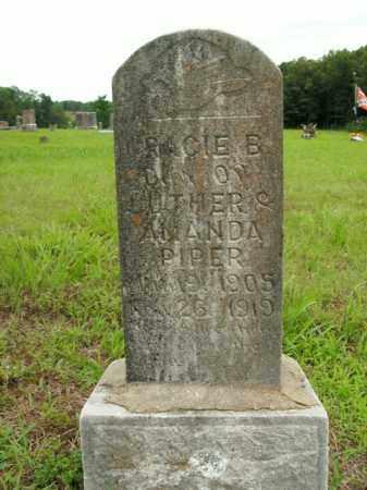PIPER, GRACIE B. - Boone County, Arkansas | GRACIE B. PIPER - Arkansas Gravestone Photos