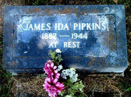 PIPKINS, JAMES IDA - Boone County, Arkansas | JAMES IDA PIPKINS - Arkansas Gravestone Photos