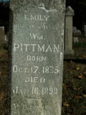 PITTMAN, EMILY - Boone County, Arkansas | EMILY PITTMAN - Arkansas Gravestone Photos