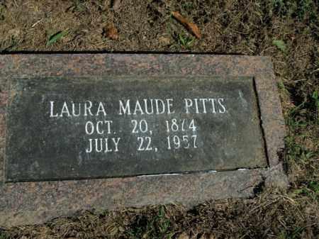 PITTS, LAURA MAUDE - Boone County, Arkansas   LAURA MAUDE PITTS - Arkansas Gravestone Photos