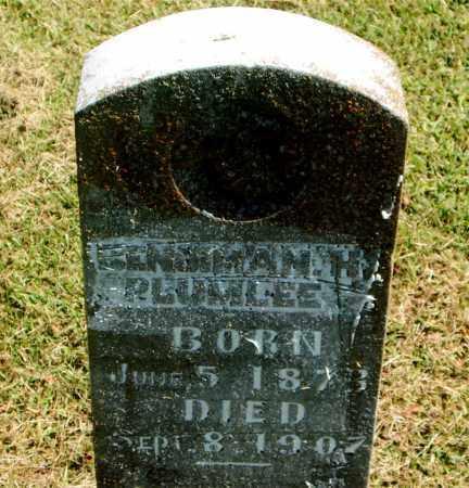 PLUMLEE, BENJAMAN H. - Boone County, Arkansas | BENJAMAN H. PLUMLEE - Arkansas Gravestone Photos