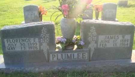 PLUMLEE, FLORENCE E. - Boone County, Arkansas | FLORENCE E. PLUMLEE - Arkansas Gravestone Photos