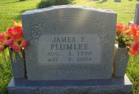 PLUMLEE, JAMES F. - Boone County, Arkansas | JAMES F. PLUMLEE - Arkansas Gravestone Photos