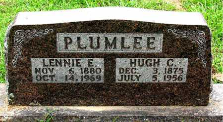 PLUMLEE, LENNIE E - Boone County, Arkansas | LENNIE E PLUMLEE - Arkansas Gravestone Photos