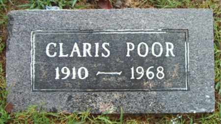 POOR, CLARIS - Boone County, Arkansas | CLARIS POOR - Arkansas Gravestone Photos