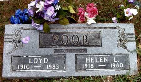 POOR, HELEN L - Boone County, Arkansas | HELEN L POOR - Arkansas Gravestone Photos