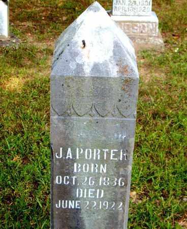 PORTER, J.  A. - Boone County, Arkansas | J.  A. PORTER - Arkansas Gravestone Photos