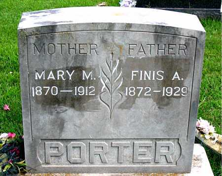 PORTER, MARY M - Boone County, Arkansas | MARY M PORTER - Arkansas Gravestone Photos
