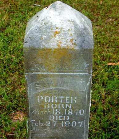 PORTER, SARAH - Boone County, Arkansas | SARAH PORTER - Arkansas Gravestone Photos