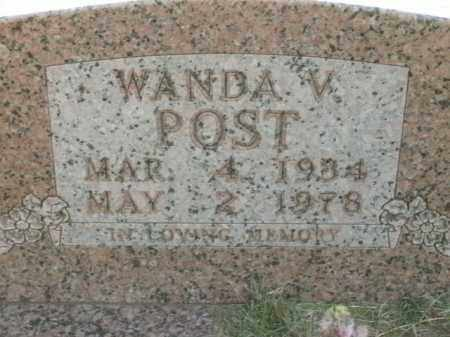 POST, WANDA V. - Boone County, Arkansas | WANDA V. POST - Arkansas Gravestone Photos