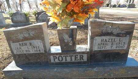 POTTER, BEN R - Boone County, Arkansas | BEN R POTTER - Arkansas Gravestone Photos