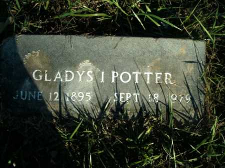 POTTER, GLADYS I. - Boone County, Arkansas | GLADYS I. POTTER - Arkansas Gravestone Photos