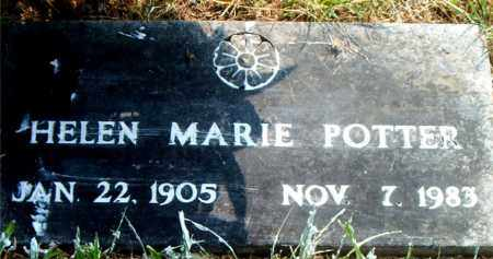 POTTER, HELEN MARIE - Boone County, Arkansas | HELEN MARIE POTTER - Arkansas Gravestone Photos