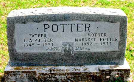 POTTER, L.  A. - Boone County, Arkansas | L.  A. POTTER - Arkansas Gravestone Photos