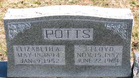 POTTS, ELIZABETH  A. - Boone County, Arkansas | ELIZABETH  A. POTTS - Arkansas Gravestone Photos