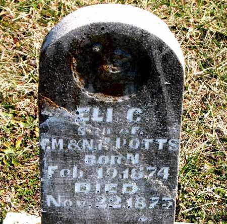 POTTS, ELI  C. - Boone County, Arkansas | ELI  C. POTTS - Arkansas Gravestone Photos