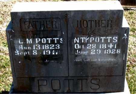 POTTS, N.  T. - Boone County, Arkansas | N.  T. POTTS - Arkansas Gravestone Photos