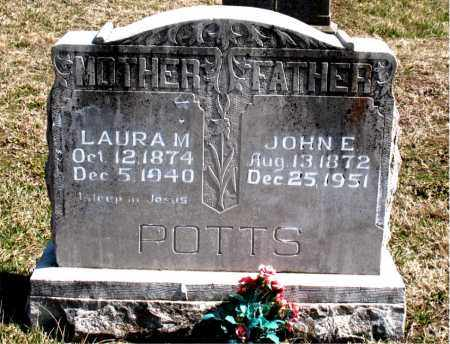 POTTS, LAURA M. - Boone County, Arkansas | LAURA M. POTTS - Arkansas Gravestone Photos