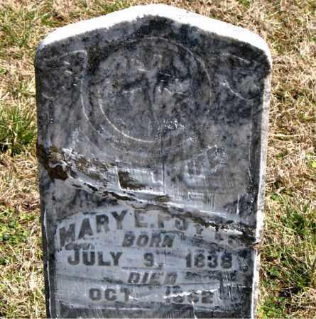 POTTS, MARY E. - Boone County, Arkansas | MARY E. POTTS - Arkansas Gravestone Photos