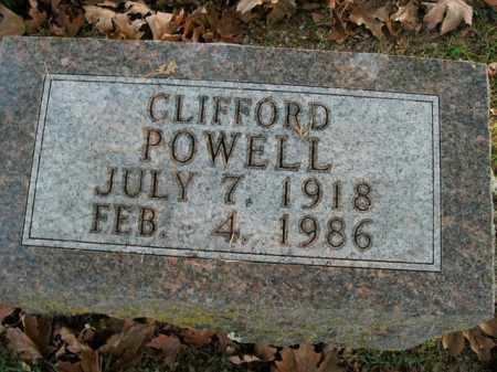POWELL, CLIFFORD - Boone County, Arkansas | CLIFFORD POWELL - Arkansas Gravestone Photos
