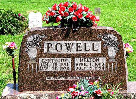 POWELL, MELTON - Boone County, Arkansas | MELTON POWELL - Arkansas Gravestone Photos