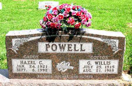 POWELL, HAZEL C - Boone County, Arkansas | HAZEL C POWELL - Arkansas Gravestone Photos