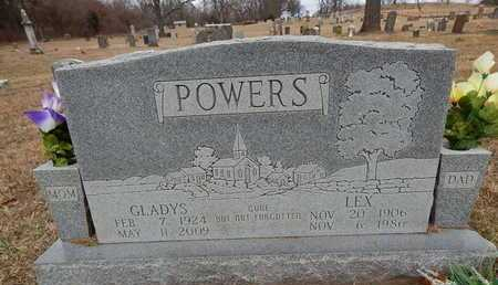 POWERS, LEX - Boone County, Arkansas | LEX POWERS - Arkansas Gravestone Photos