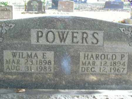 POWERS, HAROLD P. - Boone County, Arkansas | HAROLD P. POWERS - Arkansas Gravestone Photos