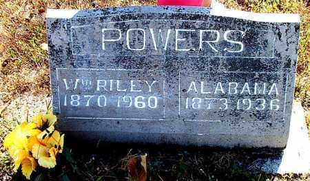 POWERS, ALABAMA - Boone County, Arkansas | ALABAMA POWERS - Arkansas Gravestone Photos