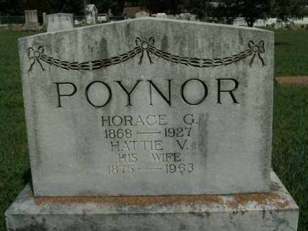 POYNER, HORACE G. - Boone County, Arkansas | HORACE G. POYNER - Arkansas Gravestone Photos