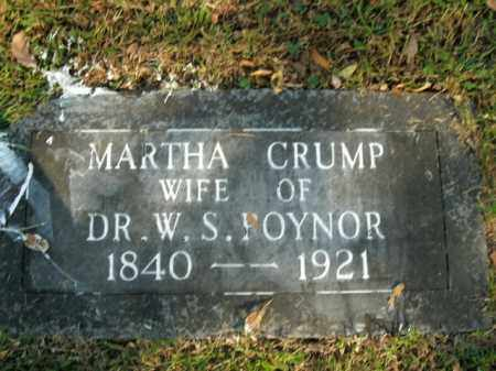 CRUMP POYNER, MARTHA - Boone County, Arkansas | MARTHA CRUMP POYNER - Arkansas Gravestone Photos