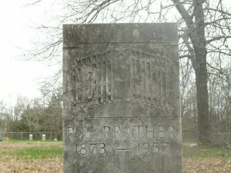 PRATHER, P.L. - Boone County, Arkansas | P.L. PRATHER - Arkansas Gravestone Photos