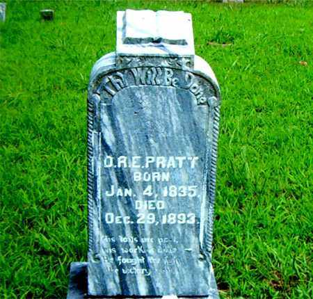 PRATT, O. R. E. - Boone County, Arkansas | O. R. E. PRATT - Arkansas Gravestone Photos