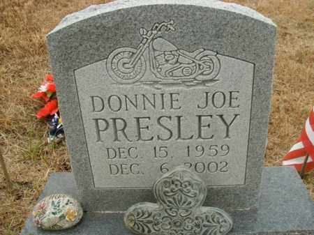 PRESLEY, DONNIE JOE - Boone County, Arkansas | DONNIE JOE PRESLEY - Arkansas Gravestone Photos