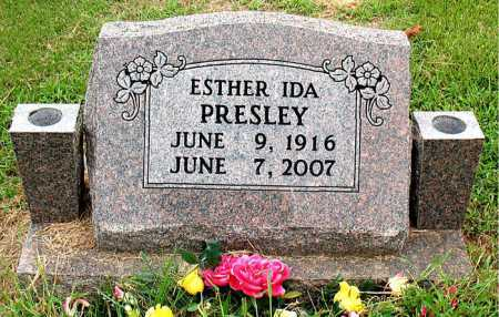PRESLEY, ESTHER IDA - Boone County, Arkansas | ESTHER IDA PRESLEY - Arkansas Gravestone Photos