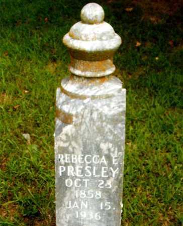 PRESLEY, REBECCA E. - Boone County, Arkansas | REBECCA E. PRESLEY - Arkansas Gravestone Photos